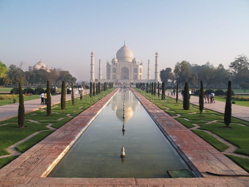 Palais de Taj Mahal images libres de droits