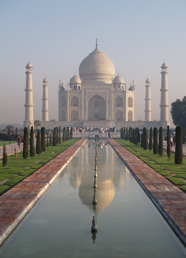 Palais de Taj Mahal photographie stock