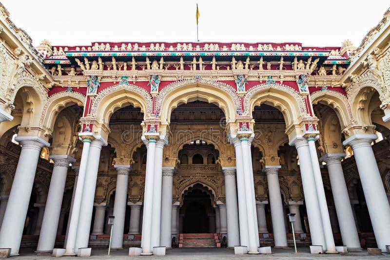 Palais de Thirumalai Nayak image stock