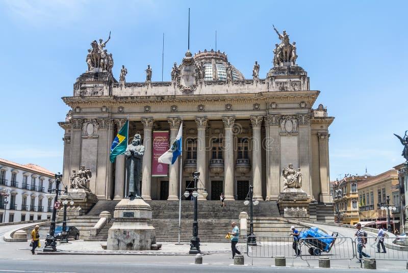 Palais de Tiradentes - Rio de Janeiro - Brésil image libre de droits