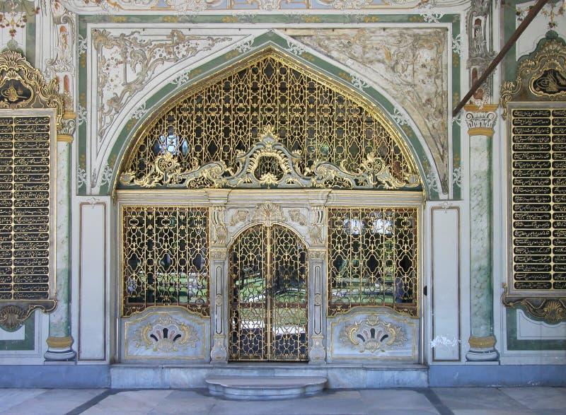 Palais de Topkapi, Istanbul, Turquie images libres de droits