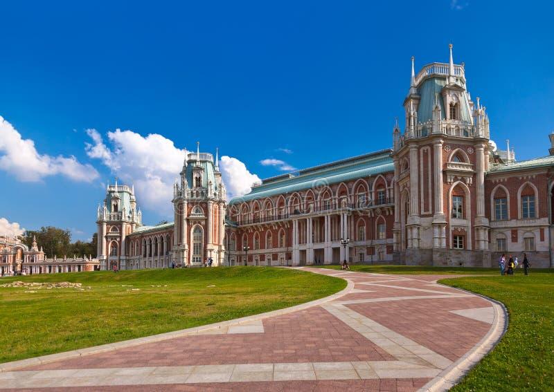 Palais de Tsaritsino - Russie Moscou photographie stock