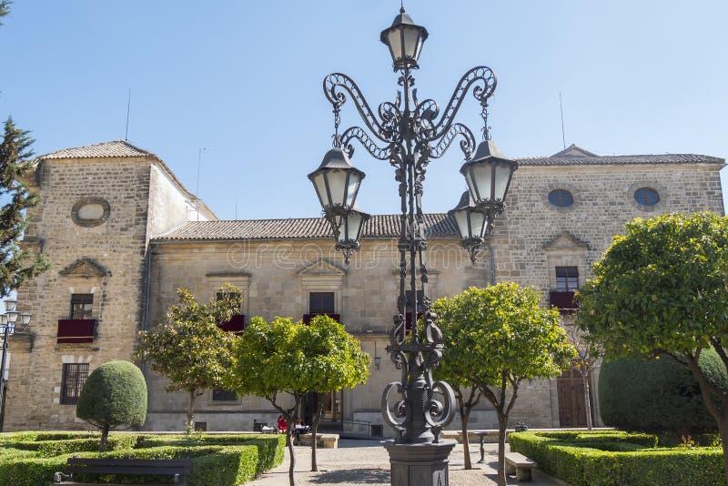 Palais de Vazquez de Molina Palace des chaînes, Ubeda, Espagne photos libres de droits