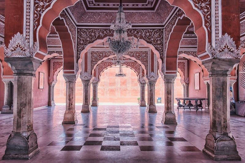 Palais de ville à Jaipur, Inde photo stock