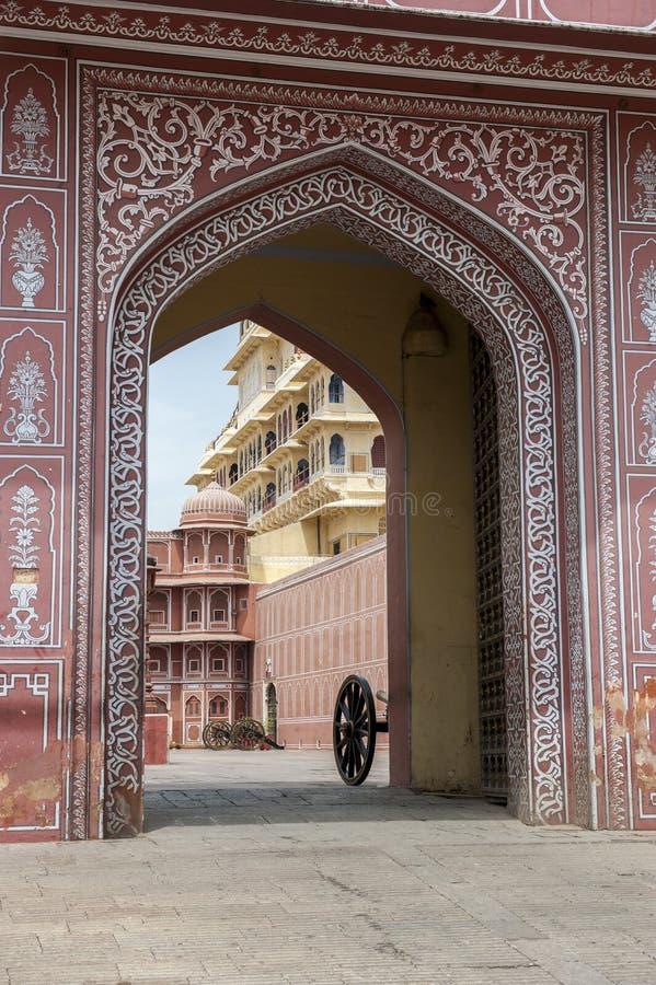 Palais de ville, Jaipur, image stock