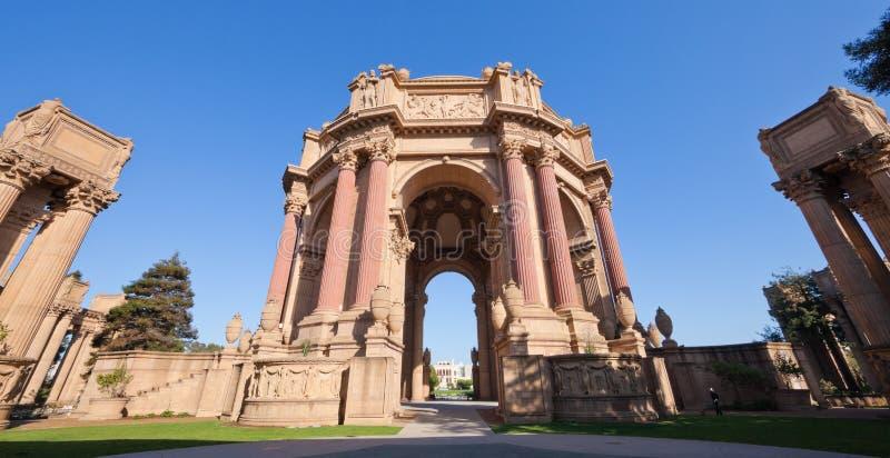 Palais des beaux-arts à San Francisco photographie stock libre de droits