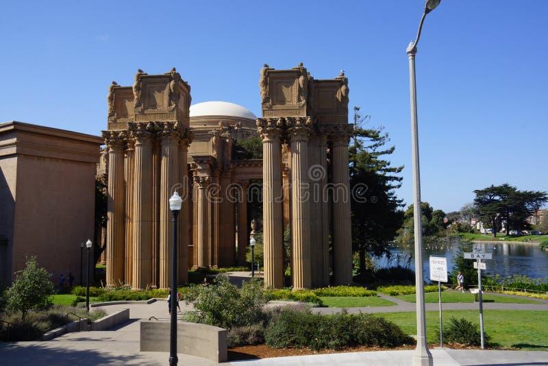Palais des beaux-arts à San Francisco photo libre de droits
