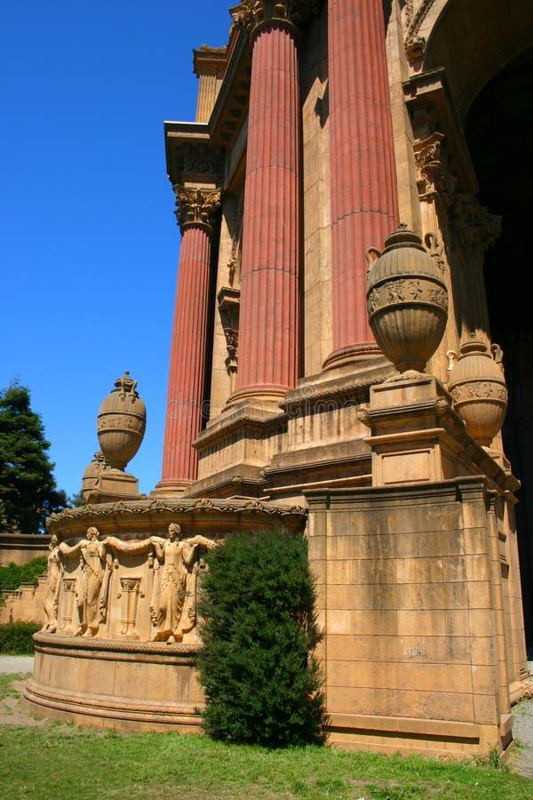 Palais des beaux-arts, San Francisco images stock