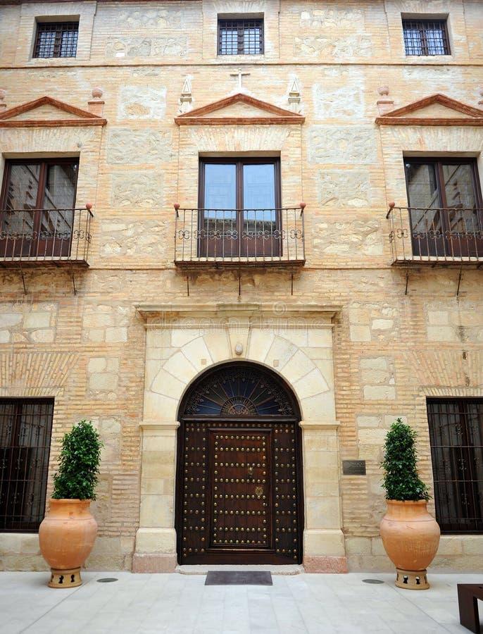 Palais des comptes de Santa Ana à Lucena, province de Cordoue, Espagne image libre de droits