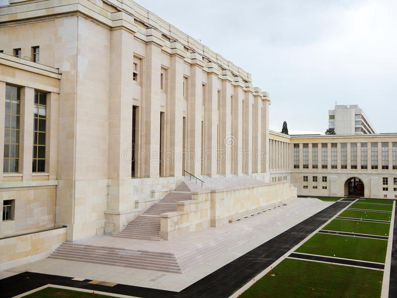 The Palais des Nations royalty free stock photos