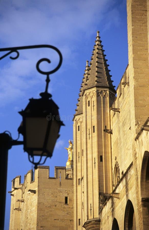 Palais des papes, Avignon, France photo libre de droits