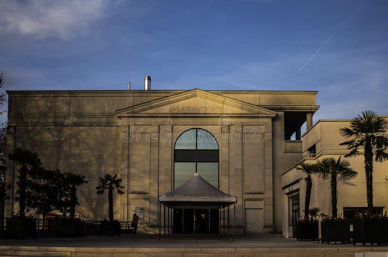 Palais des Sports royalty-vrije stock afbeelding