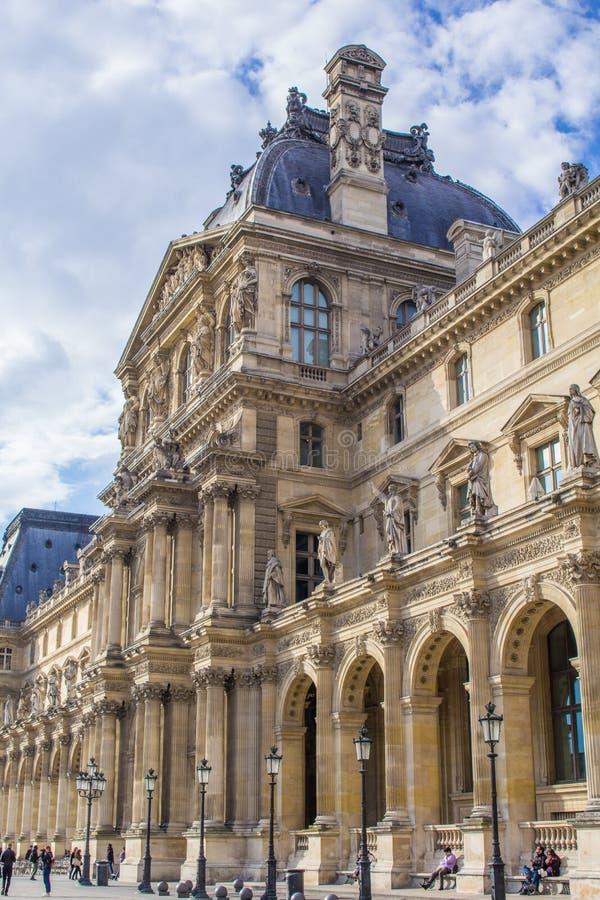 Palais du Louvre photos stock