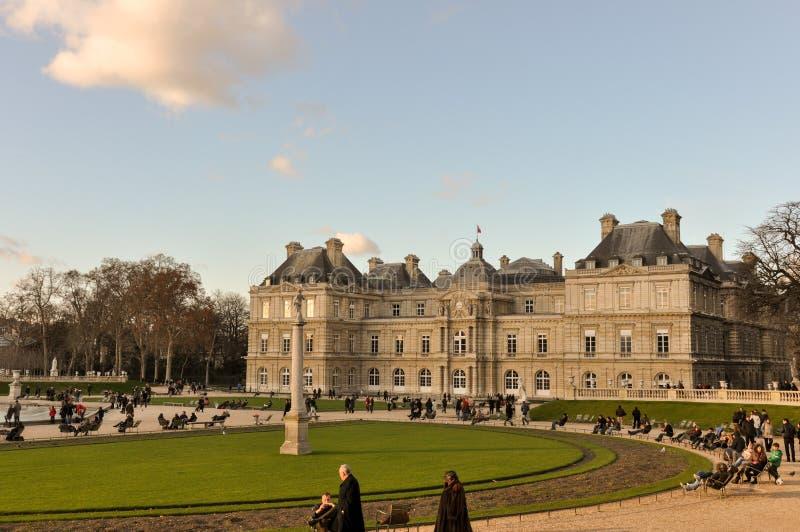 Palais du Lussemburgo, Parigi, Francia fotografie stock libere da diritti