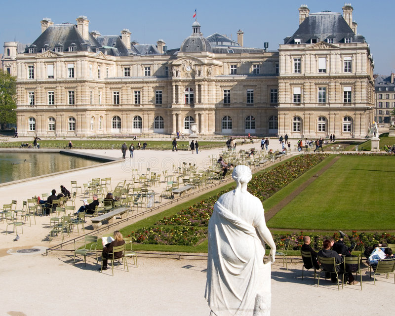 Palais du Luxembourg photo stock