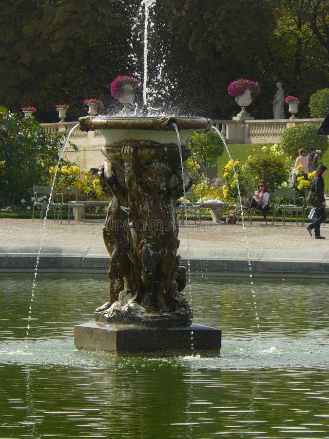 Palais du Luxembourg & x28; Paris& x29; royaltyfria bilder