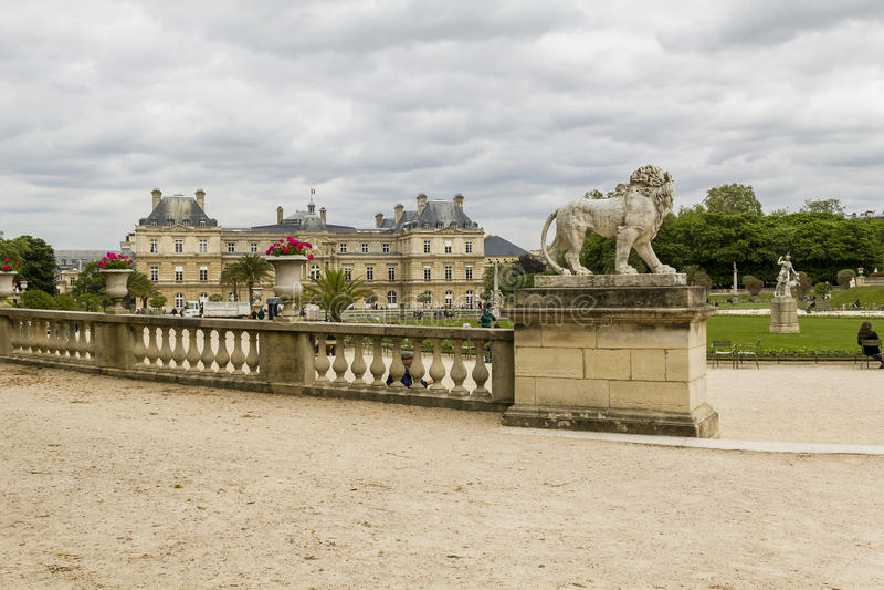 Palais du luxembourgeois à Paris photos libres de droits
