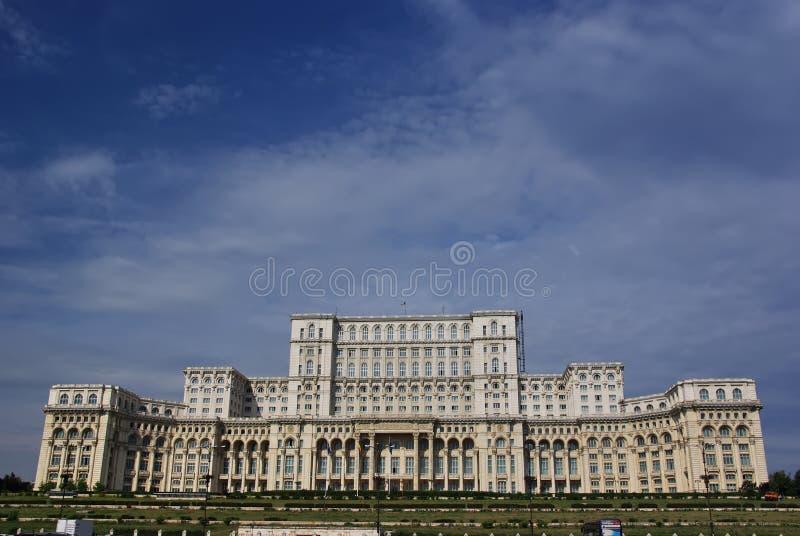 Palais du Parlement à Bucarest photographie stock
