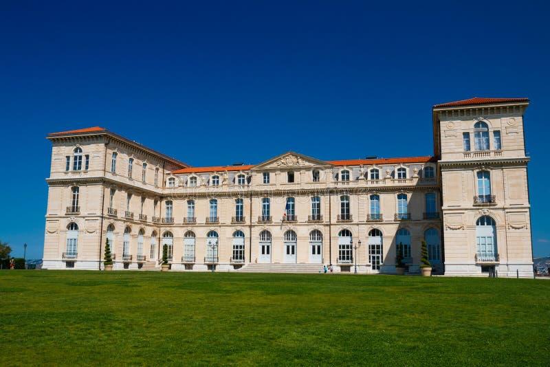 Palais du Pharo стоковые фотографии rf
