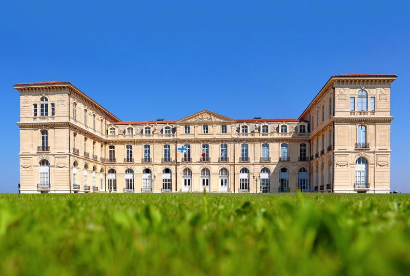 Palais du Pharo in Marseille stock foto's