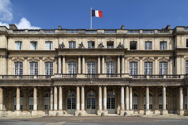 Palais du Regering i staden av Nancy - Frankrike royaltyfri fotografi
