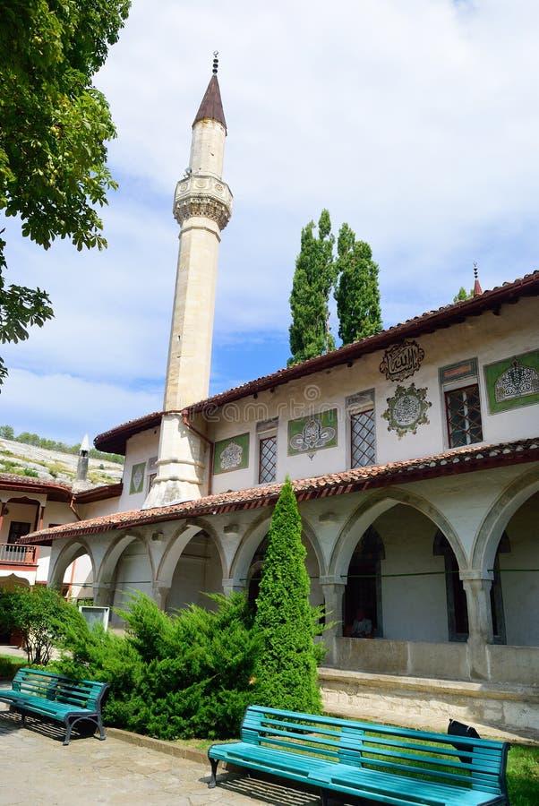 Palais du ` s de Khan dans Bakhchisarai crimea image libre de droits