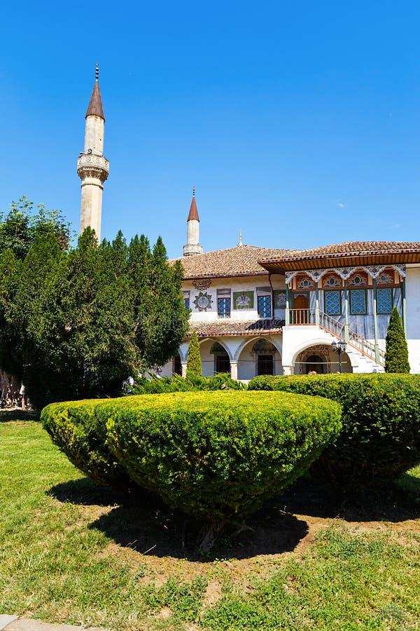 Palais du ` s de Khan dans Bakhchisaray crimea image stock