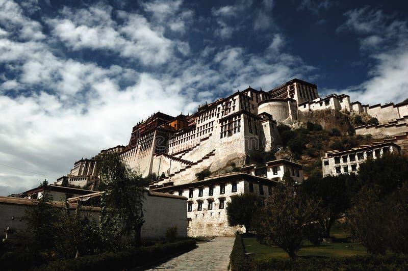 Palais du Thibet Potala photographie stock libre de droits