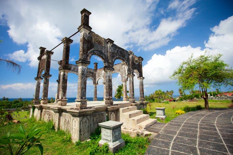 Palais est de Bali photographie stock