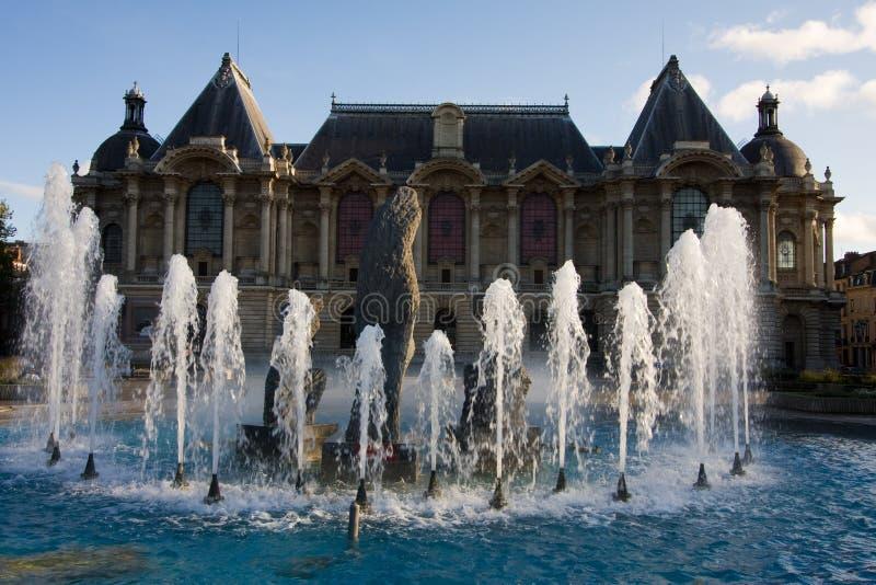 palais för konstbeauxdes royaltyfri fotografi