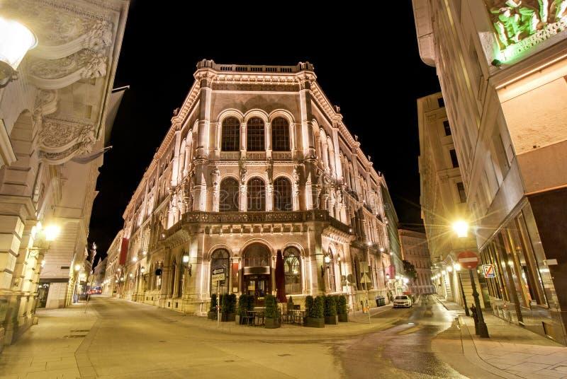 Palais Ferstel em Viena, Áustria, Europa fotos de stock