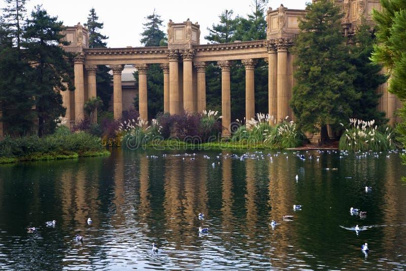palais fin san de la Californie Francisco d'arts photos libres de droits