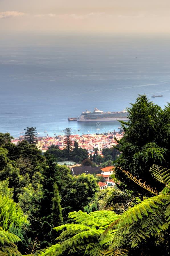 Palais Gardenâ tropical Funchal, M de Monte image stock
