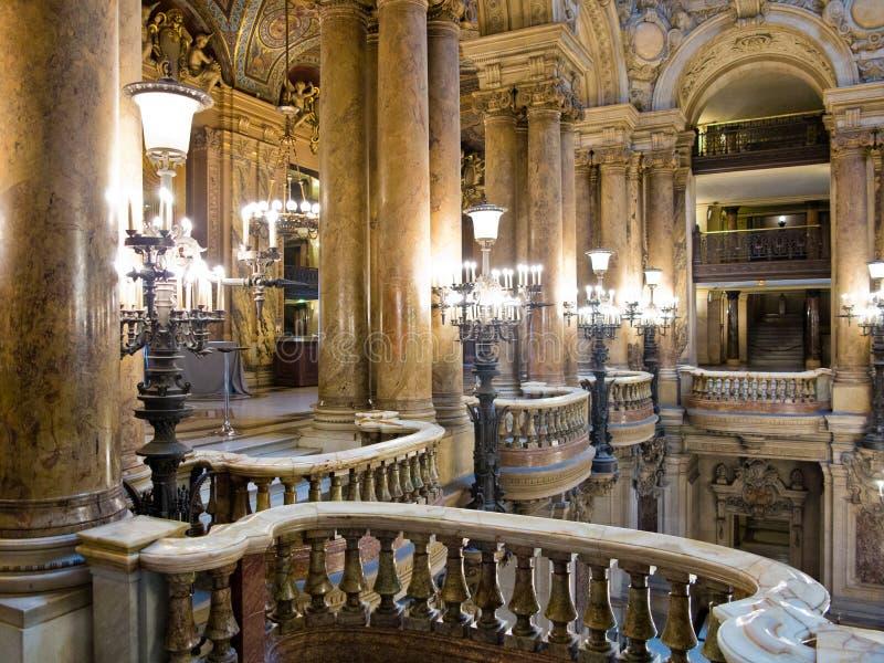 Palais Garnier巴黎 库存照片
