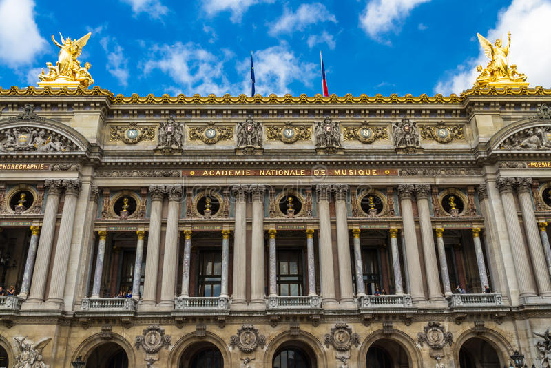 Palais Garnier 免版税库存照片