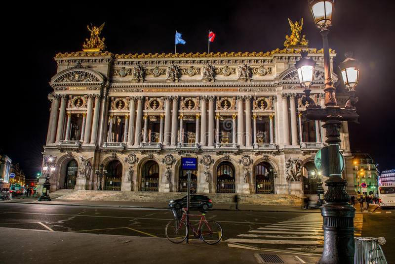 Palais Garnier 免版税库存图片