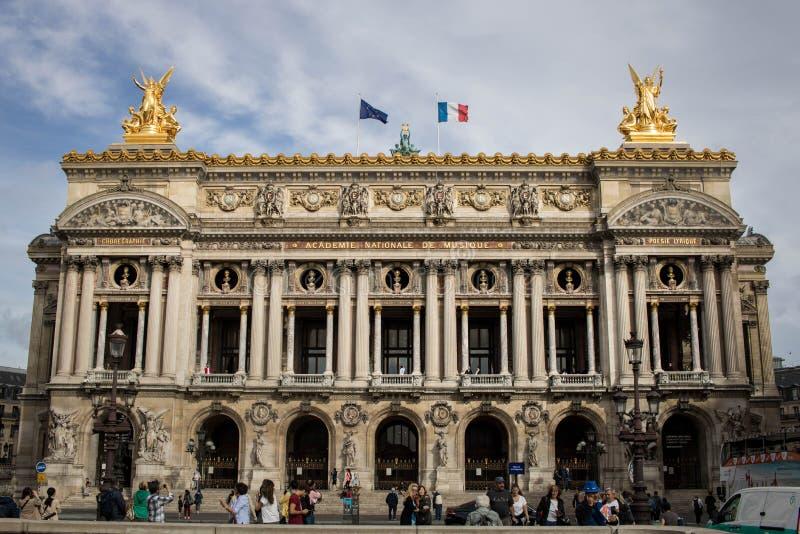 Palais Garnier opera de Paris royaltyfri fotografi