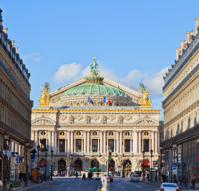 Opera of Paris, France royalty free stock image