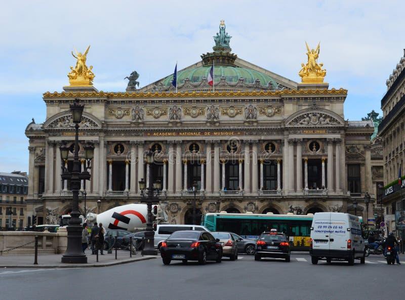 Palais Garnier, opera Paryż Francja fotografia stock