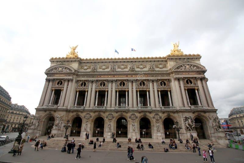 Palais Garnier, Paryski Francja obrazy stock