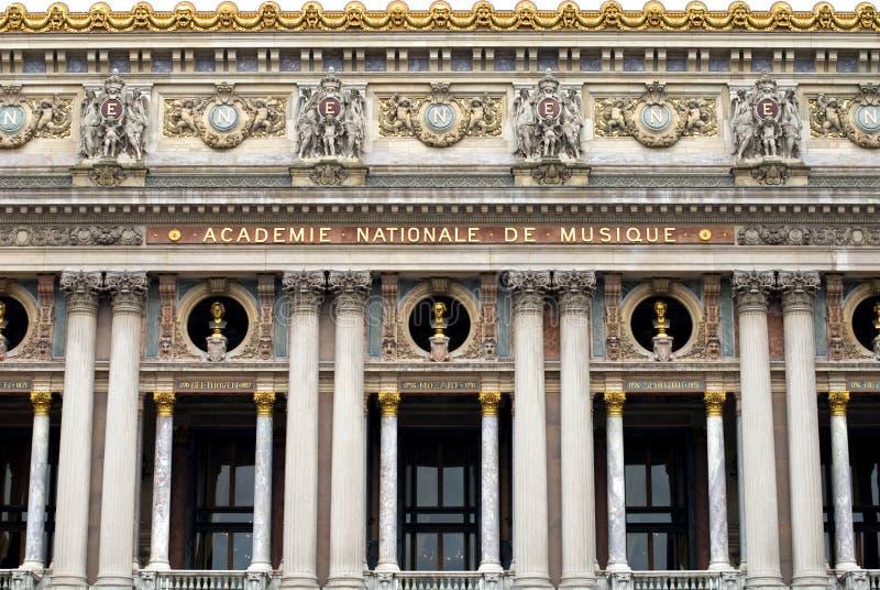 Palais Garnier (teatro da ópera), imagens de stock royalty free