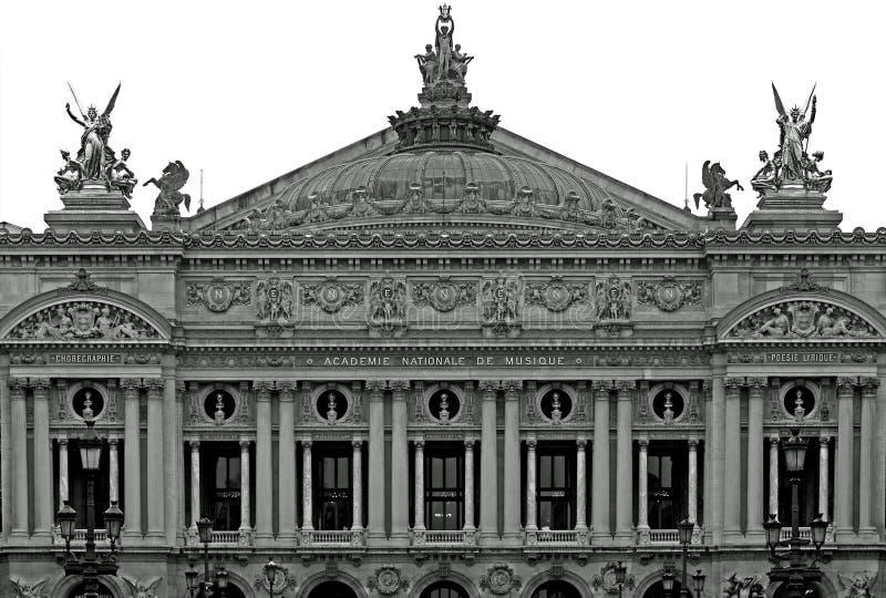 Palais Garnier (teatro da ópera), Paris, France fotografia de stock royalty free