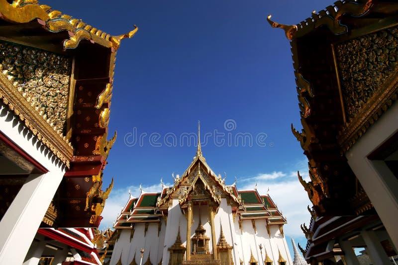 Palais grand d'architecture thaïe photos stock