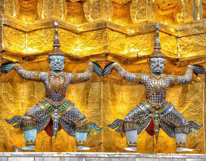 Palais grand de Bangkok images libres de droits