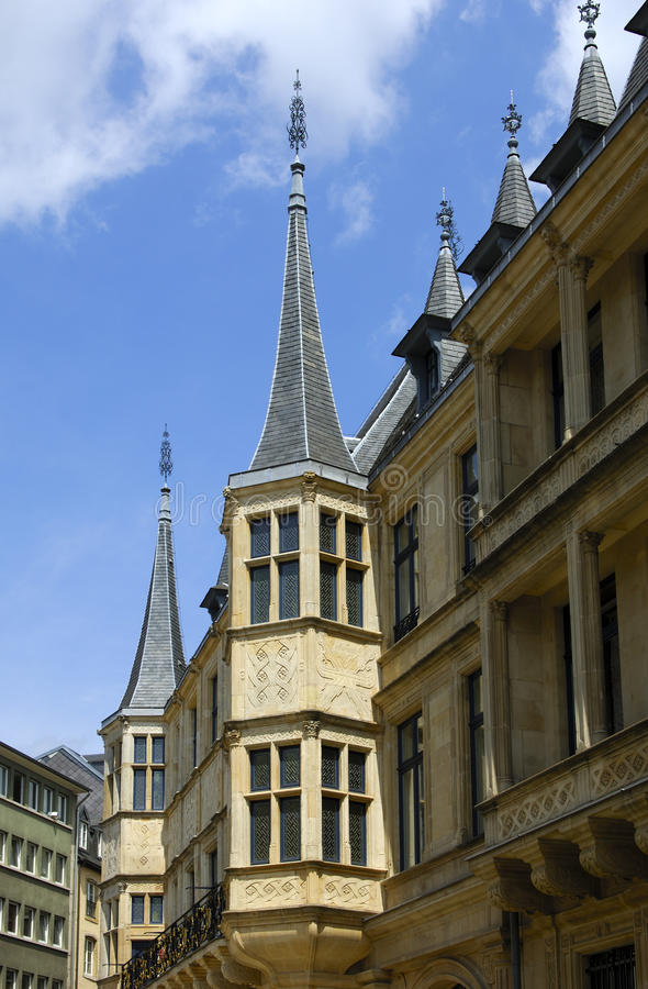 Palais Grand-ducal Au Luxembourg Photo stock