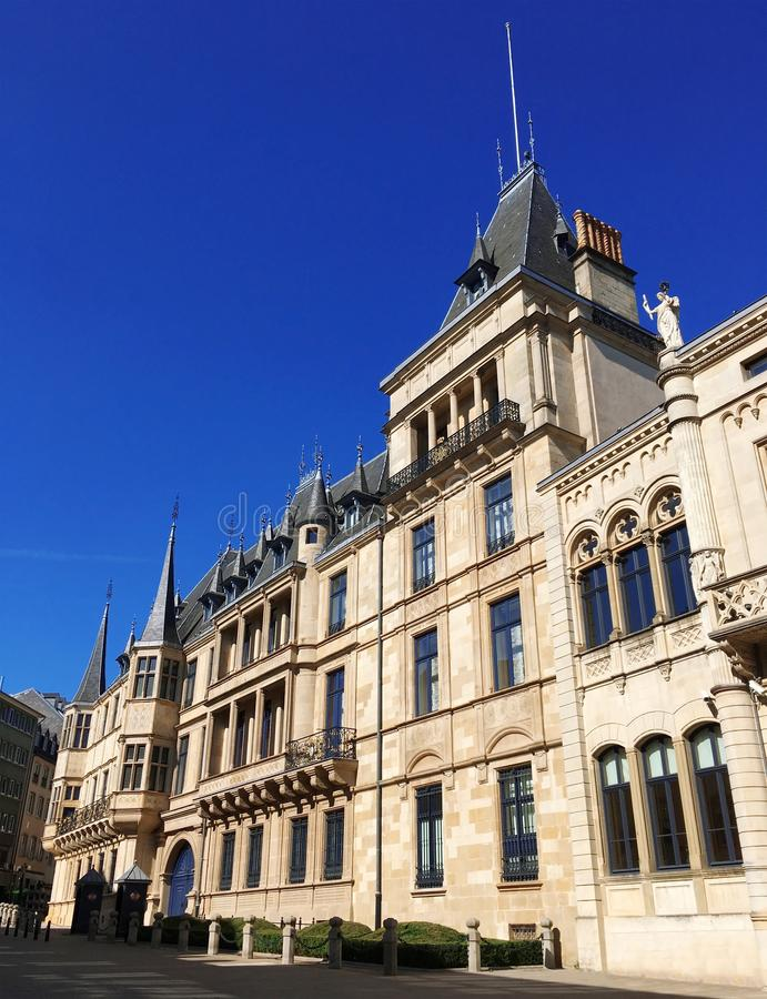 Palais grand-ducal, Luxembourg images stock