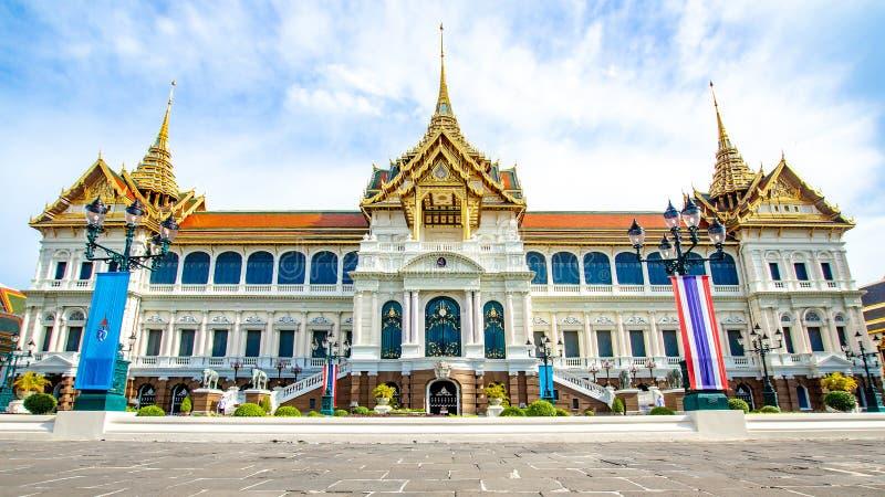 Palais grand royal thaïlandais à Bangkok, Asie Thaïlande photographie stock