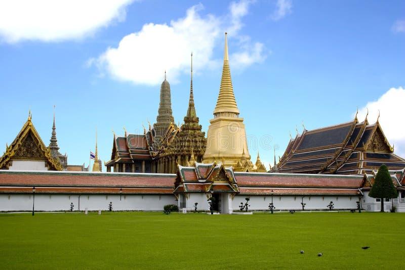 Palais grand - Thaïlande image libre de droits