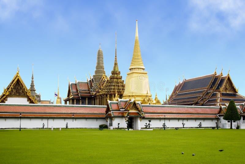 Palais grand - Thaïlande images stock