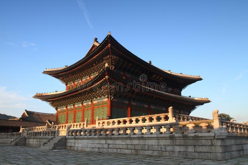 Palais Hall de Changdeokgung photos libres de droits